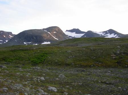 En bild ifrån Jämtlandstriangeln